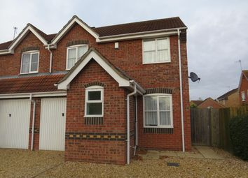 Thumbnail 3 bed semi-detached house to rent in Sir Isaac Newton Drive, Wyberton, Boston