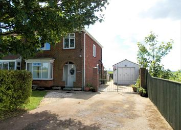 Thumbnail 3 bedroom semi-detached house for sale in Lock Road, North Cotes, Grimsby