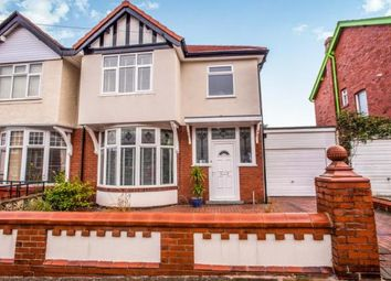 Thumbnail 3 bed semi-detached house for sale in Leicester Road, Blackpool, Lancashire