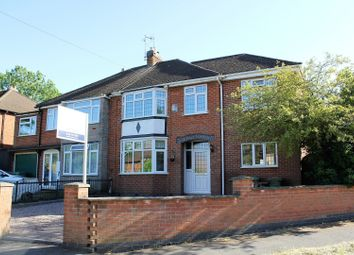 Thumbnail 4 bed semi-detached house for sale in Braunstone Lane, Leicester