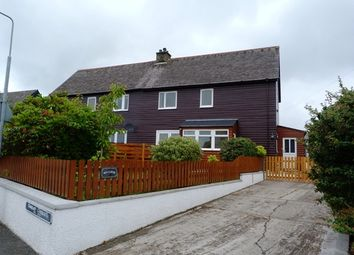 Thumbnail 3 bed semi-detached house for sale in Stornoway, Isle Of Lewis