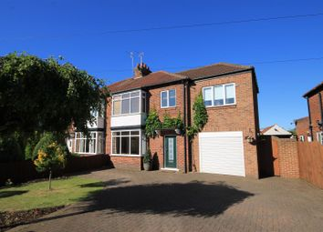 Thumbnail 4 bed semi-detached house for sale in Crosby Road, Northallerton