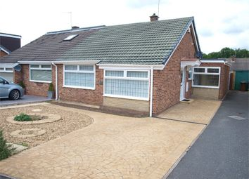 Thumbnail 2 bed semi-detached bungalow for sale in Merlin Crescent, Branston, Burton-On-Trent, Staffordshire