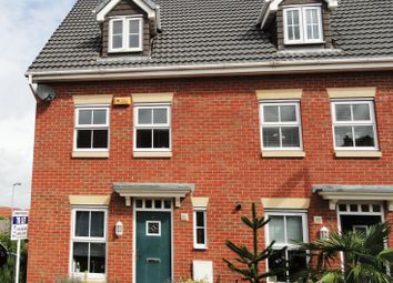 Thumbnail 3 bed link-detached house to rent in Brompton Road, Hamilton
