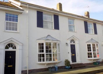 Thumbnail 3 bed terraced house for sale in Regency Crescent, Oldfields, Exmouth