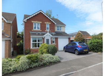 Thumbnail 4 bed detached house for sale in Heol Gwerthyd, Barry