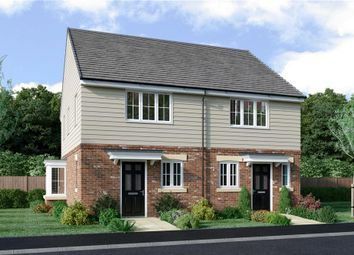 """Thumbnail 2 bed semi-detached house for sale in """"The Burroughs Feature"""" at Drove Road, Throckley, Newcastle Upon Tyne"""