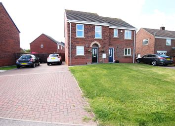 Thumbnail 3 bed semi-detached house for sale in Henry Avenue, Bowburn, Durham