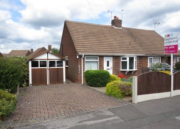 Thumbnail 2 bed semi-detached bungalow for sale in Stanhope Road, Mickleover, Derby