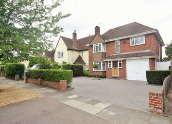 Thumbnail 4 bed detached house for sale in Queens Road, Lexden, Colchester, Essex