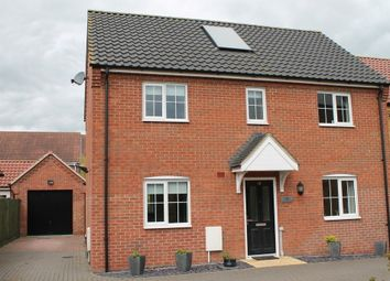 Thumbnail 4 bed detached house for sale in Harleston, Norfolk