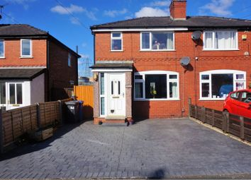 Thumbnail 2 bedroom semi-detached house for sale in Cliftonville Road, Warrington