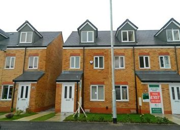 Thumbnail 3 bedroom town house to rent in Academy Way, Lostock, Bolton