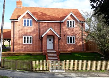 Thumbnail 4 bed detached house for sale in The Street, Barton Stacey, Winchester