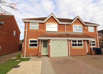 Thumbnail 3 bed semi-detached house to rent in Jasmine Close, Lutterworth