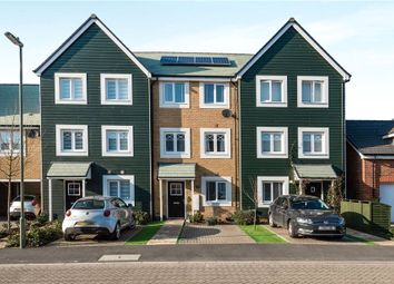 Thumbnail 4 bed town house for sale in Stevens Way, Church Crookham, Fleet