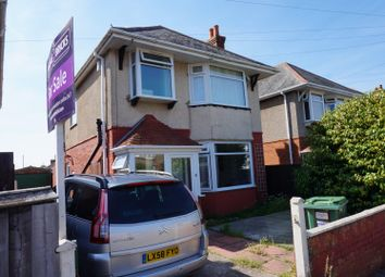 Thumbnail 3 bed detached house for sale in Cranbrook Road, Poole
