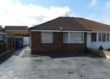 Thumbnail 2 bed bungalow to rent in Thames Road, Culcheth, Warrington