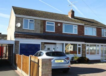 Thumbnail 4 bed semi-detached house for sale in Treasure Close, Glenfield, Leicester
