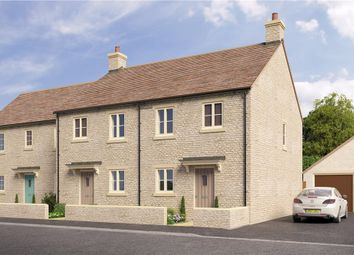 "Thumbnail 3 bed mews house for sale in ""Sherston"" at Quercus Road, Tetbury"