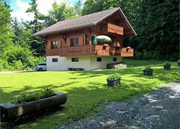 Thumbnail 4 bed chalet for sale in Morillon, Haute-Savoie