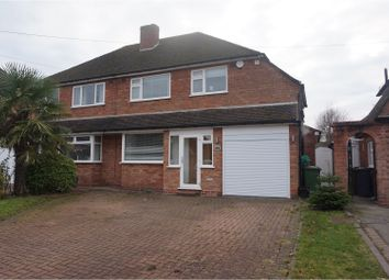Thumbnail 4 bed semi-detached house to rent in Willow Road, Solihull