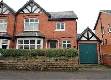 Thumbnail 4 bed semi-detached house for sale in Carnarvon Road, West Bridgford