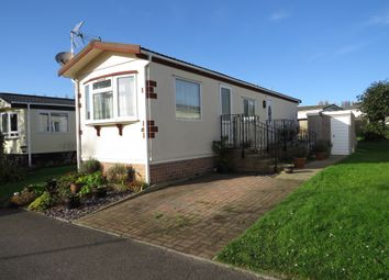 Thumbnail 2 bed mobile/park home for sale in Houndstone Park, Brympton, Yeovil