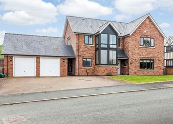 Thumbnail 5 bed detached house for sale in Parc Bronhyddon, Llansantffraid, Powys