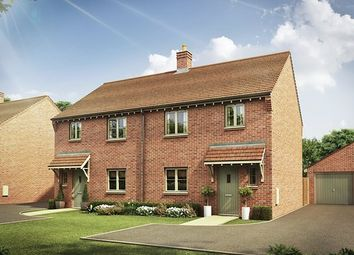 Thumbnail 3 bed semi-detached house for sale in The Abbey, Bedford Road, Houghton Fields, Milton Keynes