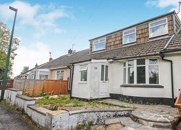 Thumbnail 3 bed semi-detached bungalow for sale in Park Hill Crescent, Beaufort, Ebbw Vale