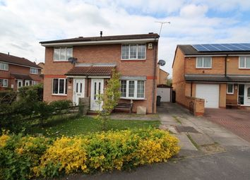 Thumbnail 3 bed semi-detached house for sale in Mill Race Drive, Goldthrpe