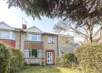 Thumbnail 4 bedroom semi-detached house for sale in Badminton Road, Downend, Bristol