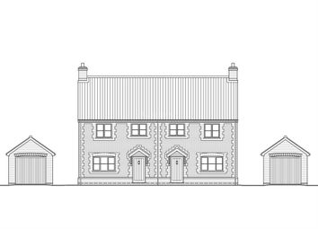 Thumbnail 3 bed semi-detached house for sale in Station Road, East Winch, King's Lynn