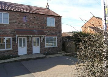 Thumbnail 2 bed semi-detached house to rent in Stump Cross, Boroughbridge