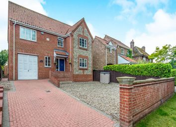 Thumbnail 4 bed detached house for sale in The Street, Gooderstone, King's Lynn