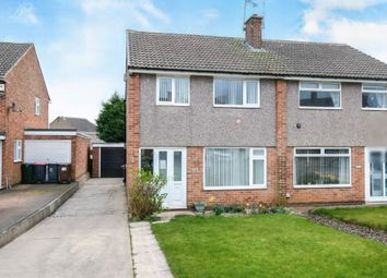 Thumbnail 3 bed semi-detached house for sale in Derwent Close, North Anston, Sheffield, South Yorkshire