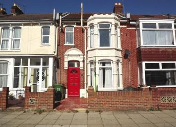 Thumbnail 3 bed terraced house to rent in Wykeham Road, Portsmouth