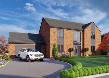 Thumbnail 4 bed detached house for sale in Cooks Lane, Nettleton, Market Rasen