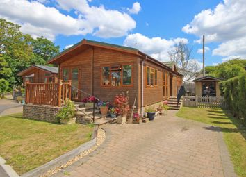 Thumbnail 2 bed mobile/park home for sale in Riverside, Upper Beeding, Steyning