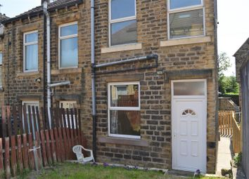 Thumbnail 2 bedroom end terrace house for sale in Highroyd Crescent, Moldgreen, Huddersfield