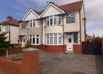 Thumbnail 4 bed semi-detached house for sale in Cumberland Avenue, Thornton-Cleveleys