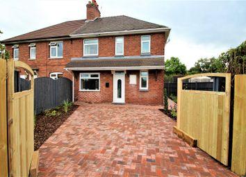Thumbnail 3 bed semi-detached house for sale in Burnthill Lane, Rugeley
