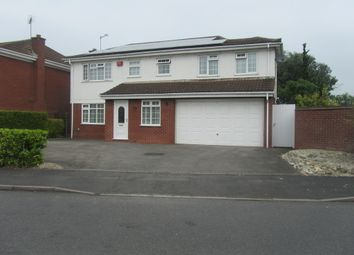 Thumbnail 5 bed detached house for sale in Wadebridge Drive, Nuneaton