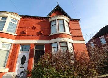 Thumbnail 3 bedroom terraced house to rent in Haggerston Road, Walton, Liverpool