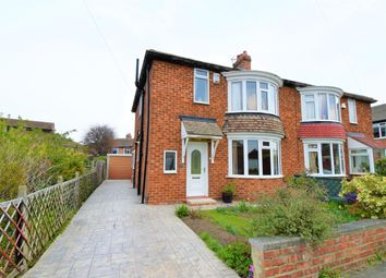 Thumbnail 3 bed semi-detached house for sale in Stanhope Grove, Middlesbrough