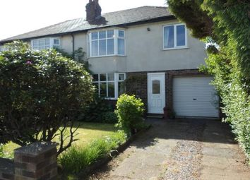 4 bed semi-detached house for sale in Thelwall New Road, Thelwall, Warrington, Cheshire WA4