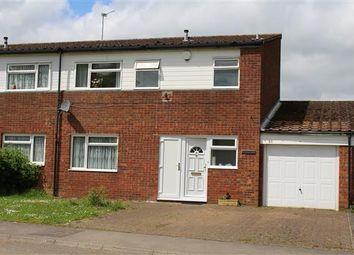 Thumbnail 3 bed semi-detached house for sale in Cotman Close, Greenleys, Milton Keynes