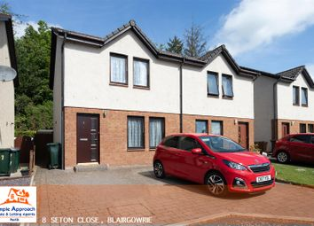 Thumbnail 2 bed semi-detached house for sale in Seton Close, Blairgowrie