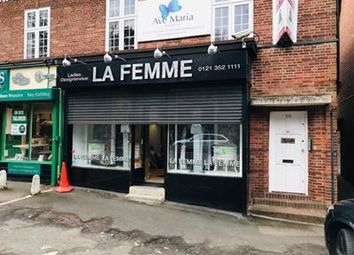 Thumbnail Retail premises to let in 60 Thornhill Road, Sutton Coldfield